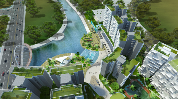 Watertown by Frasers & Sekisui House . Developer for Seaside Residences Singapore