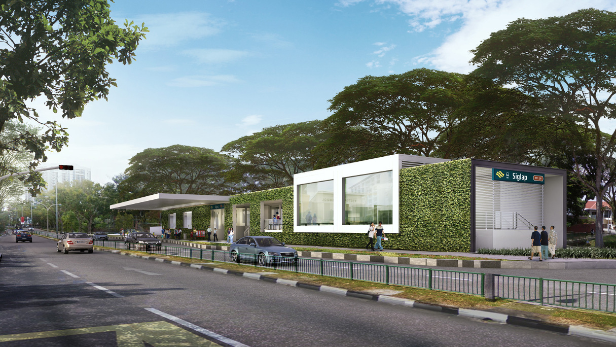 Seaside Residences Siglap MRT Station
